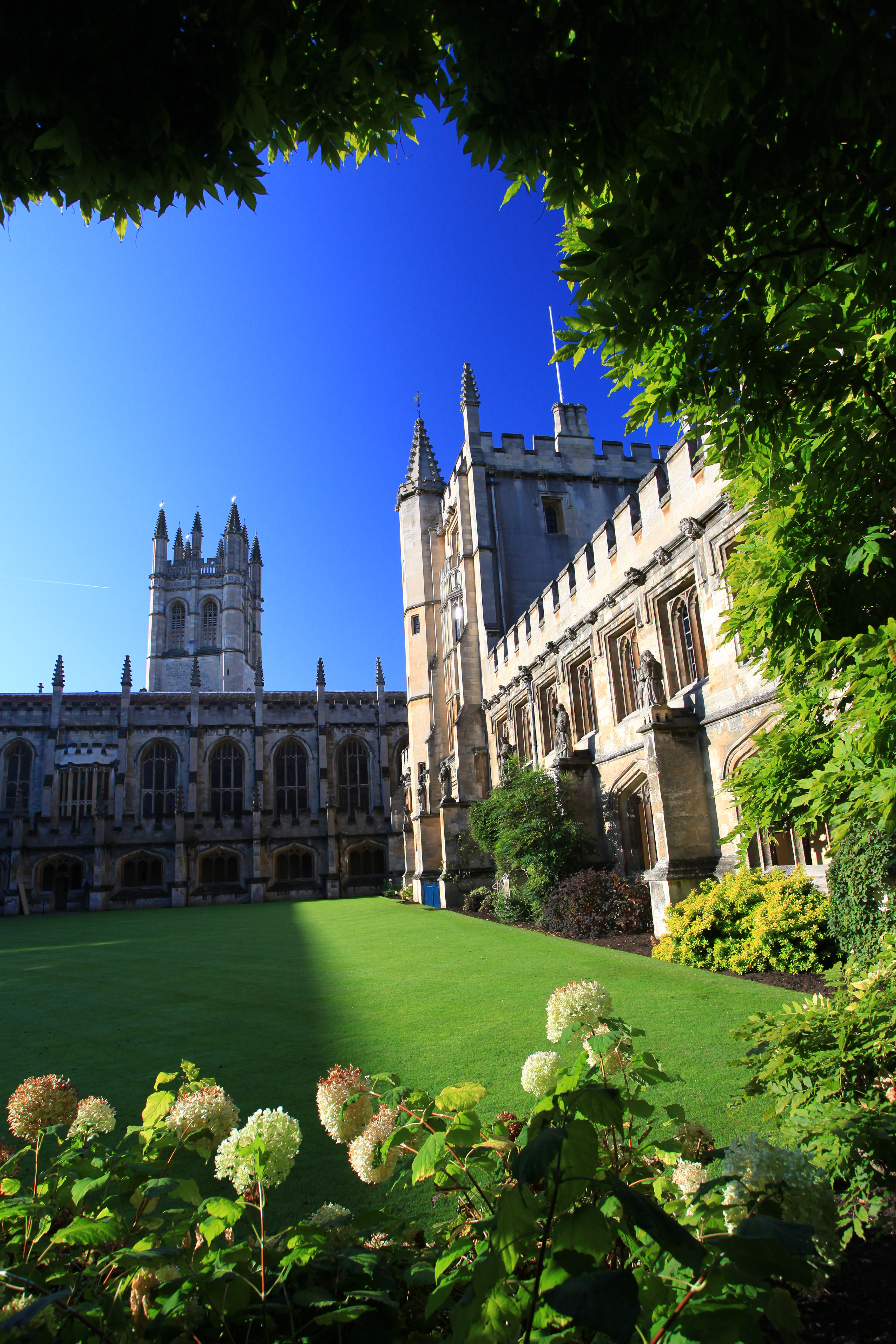 The College Buildings   Magdalen College Oxford