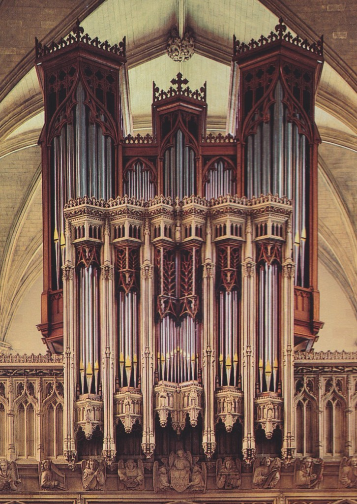 The Organ at Magdalen College