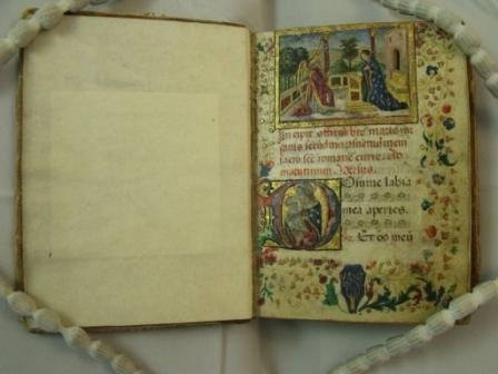 Book of Hours (Italy, 15 century) Magd. Ms. Lat. 406, fol.1r
