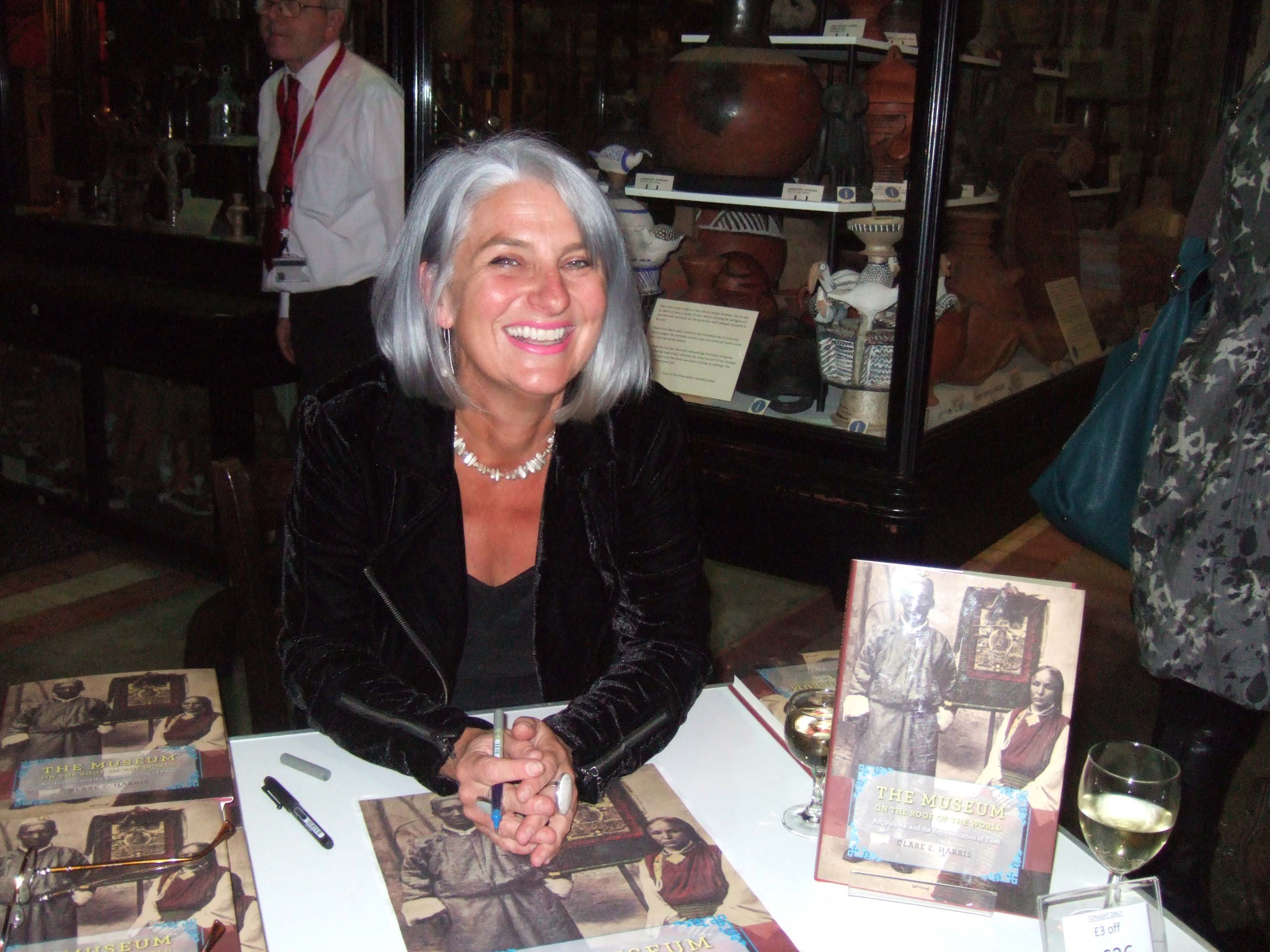 Clare at PRM book launch copy