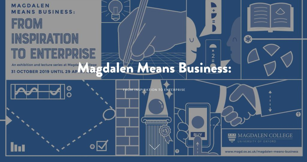 Magdalen Means Business